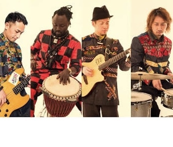 AFRO BEGUE 3 Soundwave Journey 2020 Tour in Kyushu